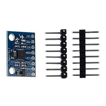 kwmobile Sensor de proximidad Sensor con Salida Digital, Giroscopio 3 Ejes Sensor para Arduino,