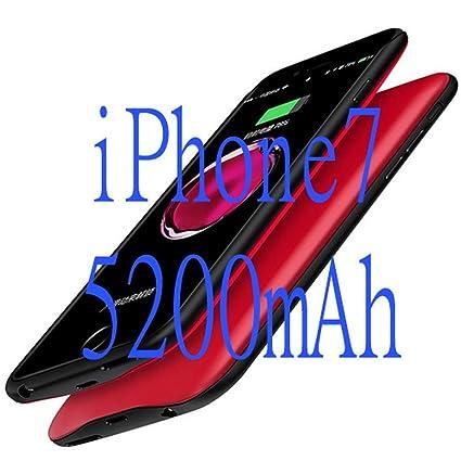 Amazon.com: Carcasa externa de TPU para iPhone 6 6S 7 Plus ...