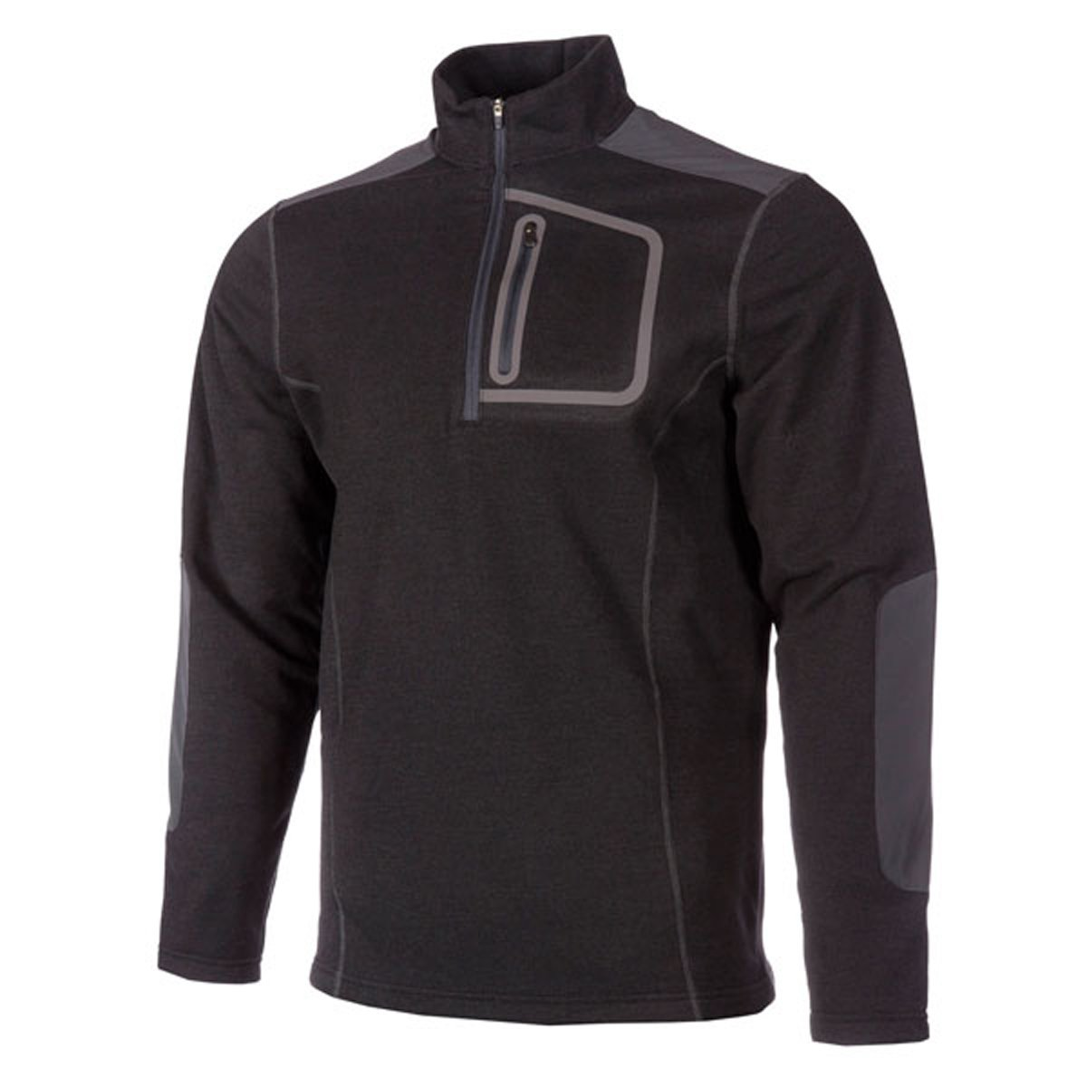 Klim Yukon Pullover Long-Sleeve Shirt Men's Undergarment MX Motorcycle Body Armor - Black / 3X-Large