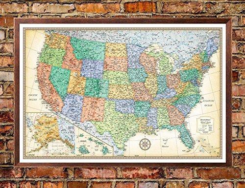 McNally USA Classic Push Pin Mounted product image