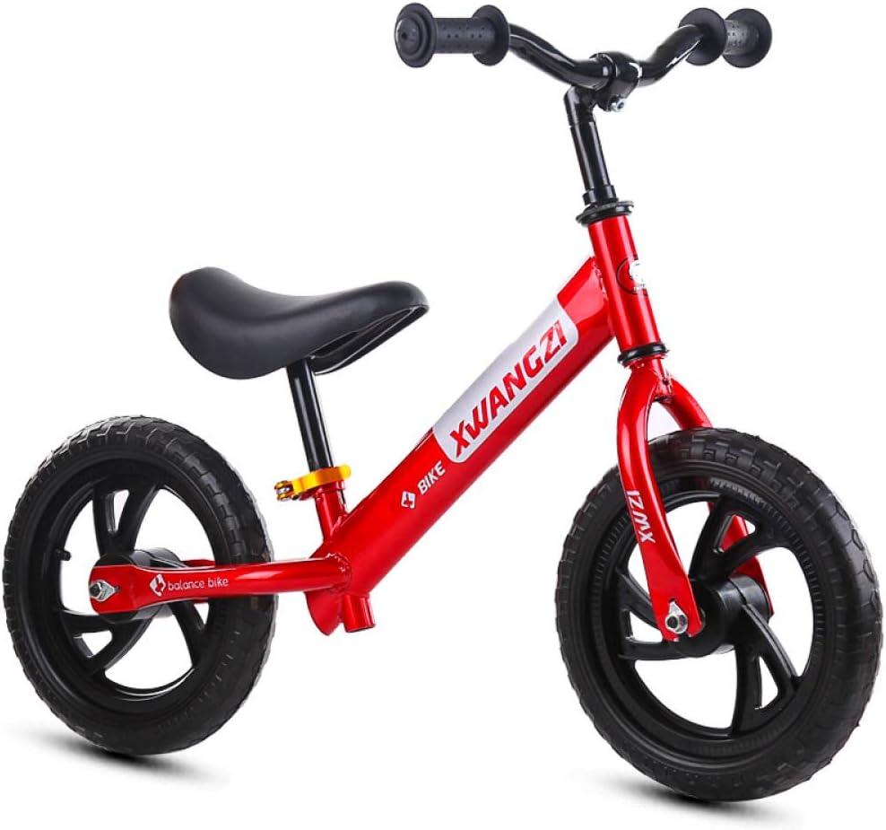 YSH Equilibrio De 12 Pulgadas En Bicicleta Sin Pie Niños Bicicleta ...