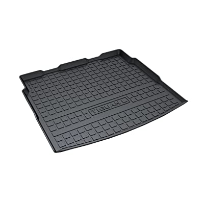Vesul Rubber Rear Trunk Cover Cargo Liner Trunk Tray Floor Mat Carpet Compatible with VW Volkswagen Tiguan 2020 2020 2020: Automotive