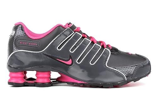 size 40 c71ce 6848f Nike Shox NZ (GS) Girls Running Shoes 415245-002 Black 6.5 M US