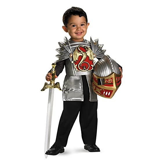 Knight of the Dragon - Size 2T  sc 1 st  Amazon.com & Amazon.com: Disguise Toddler Knight Of The Dragon Costume: Clothing