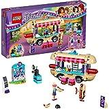 LEGO Friends 41129 - Set Costruzioni Il Furgone Degli Hot Dog Del Parco Divertimenti