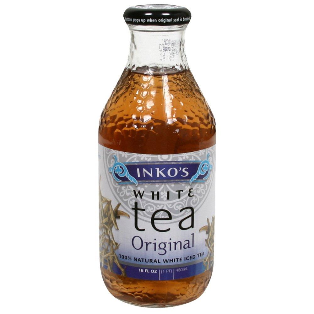 Inkos, Tea White Original Organic, 16 Fl Oz