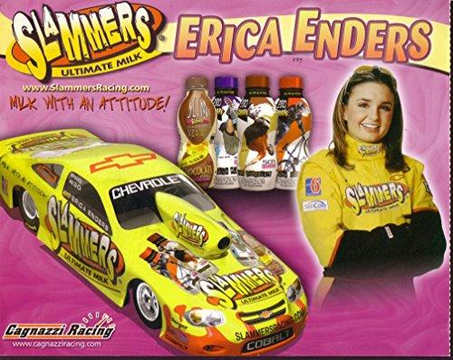 ERICA ENDERS NHRA HERO CARD CHEVY COBALT PRO-STOCK 2005 - Stock Pro Nhra 2005