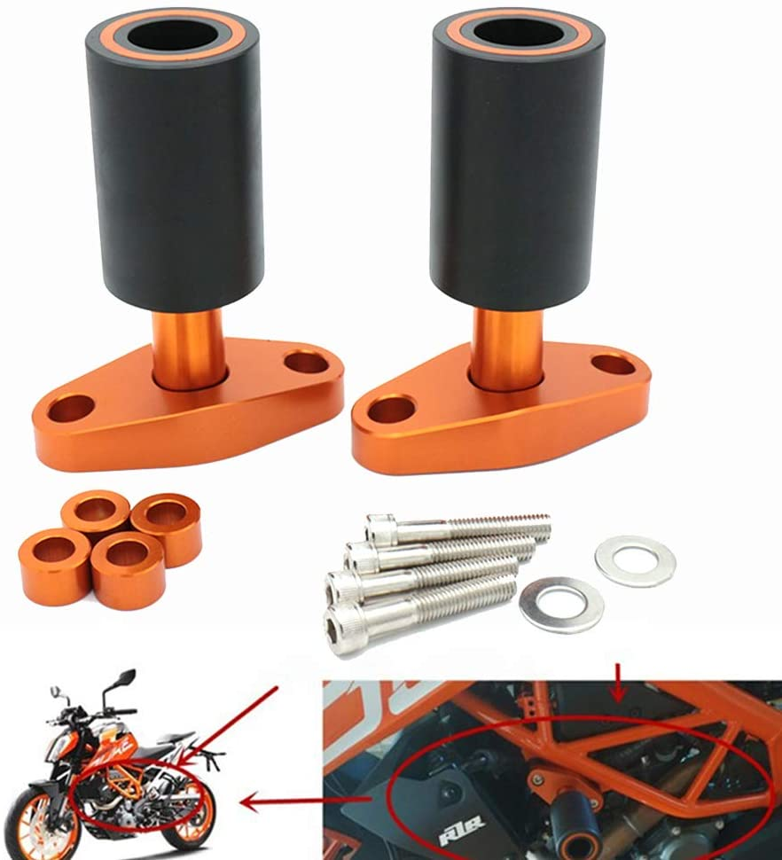 Coolsheep Motorcycle Frame Slider Crash Protector for KTM 125 200 250 390 Duke 2011-2019