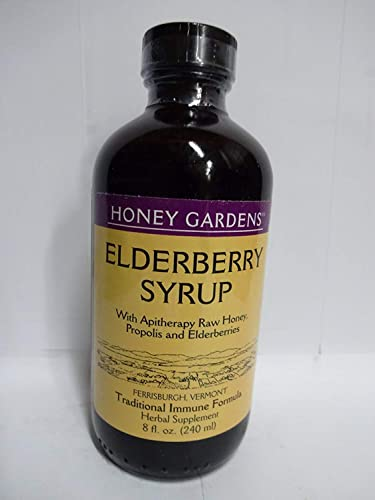 Honey Garden Apiaries, Elderberry Extract with Propolis, 8 Fl Oz