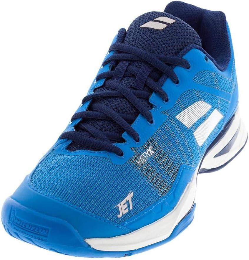 Babolat Jet Mach 1 All Court Mens Tennis Shoe – Blue White