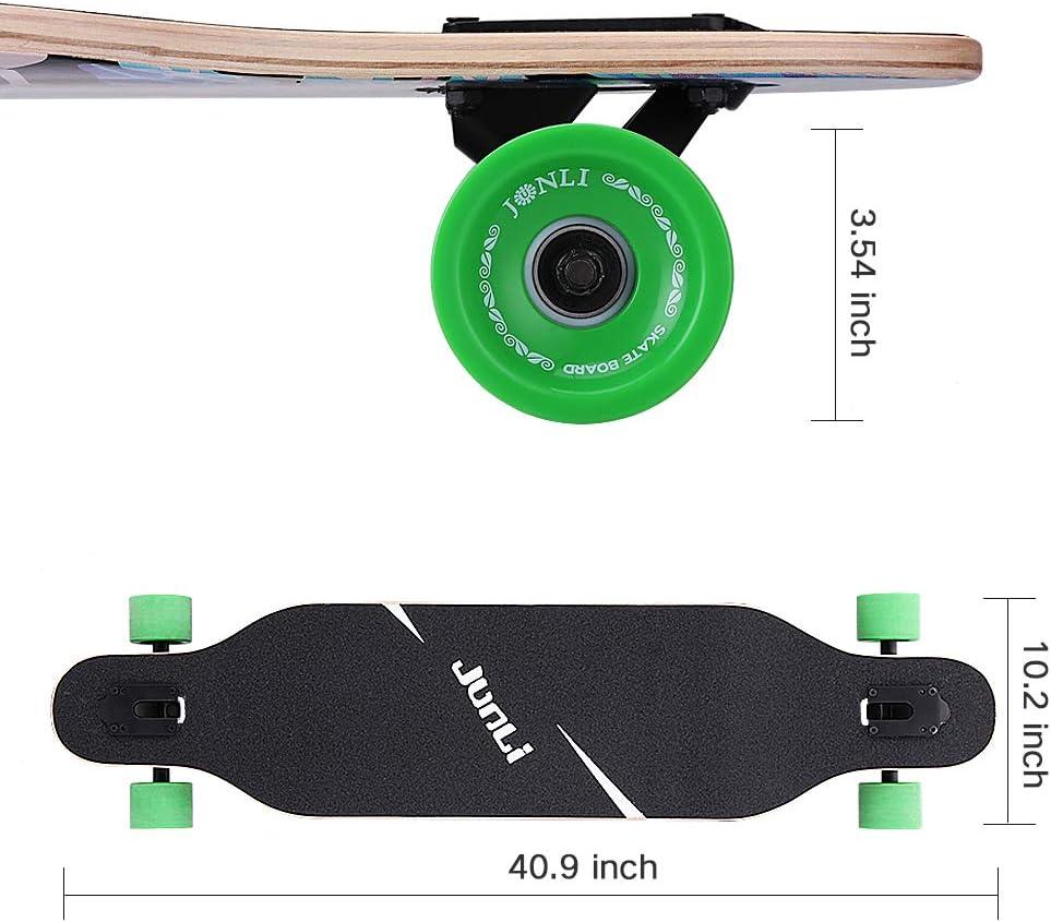 Junli 41 Inch Freeride Skateboard Longboard - 3