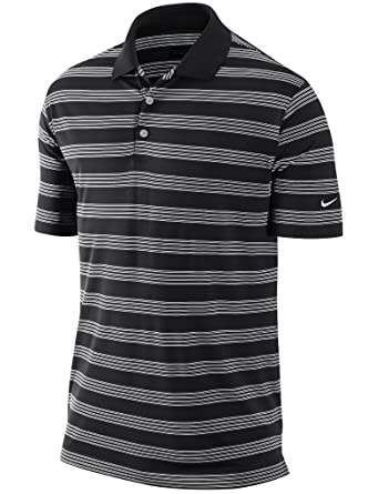 f62785851 Nike Mens Golf Tour Performance DRI-FIT White Red Black Purple Striped  Woven Polo Shirt Small: Amazon.co.uk: Clothing