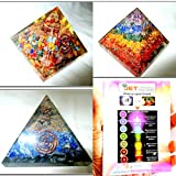 Jet Exquisite Three (3)Lapis Mix Orgone Chakra Layer Orgone Pyramid 1 each Best Offer Free Booklet Jet International Crystal Therapy Crystal Gemstones Copper Metal