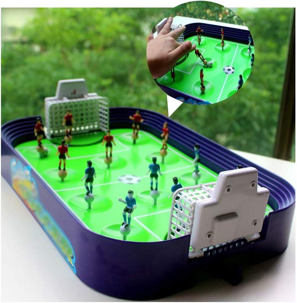 Futbolin Futbolines Para Niños Máquina De Fútbol Dedo Para Niños Juegos De Mesa Juego Mental El Plastico Durable Presión Reducida Interacción Padre-hijo (Color : Blue , Size : 38.5x24.5x10.5cm) : Amazon.es: