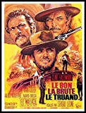 fridge magnet world - The Good the Bad and the Ugly Fridge Magnet 2.5x3.5 Clint Eastwood Magnetic Movie Poster