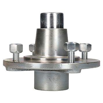 Capricornleo - Rueda de Remolque para remolques Erde Daxara, 115 mm, PCD con rodamientos sellados: Amazon.es: Hogar