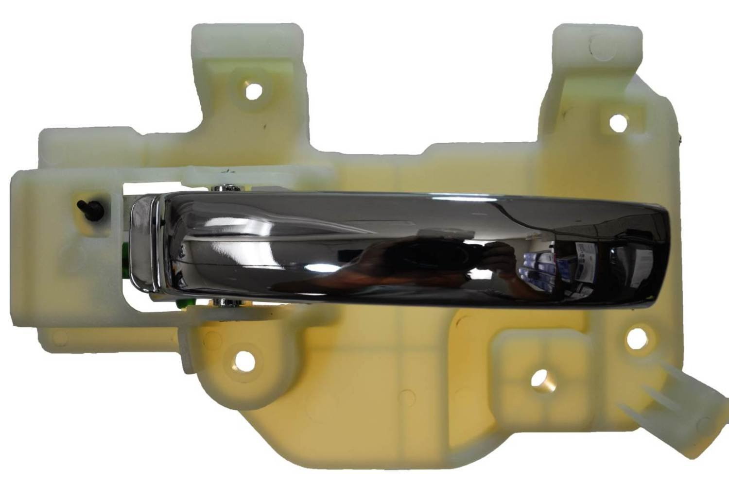 PT Auto Warehouse CH-2309M-FL Interior Inner Inside Door Handle Driver Side Front Chrome Lever