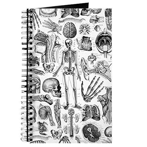 CafePress - anatomy_W_twin_duvet Journal - Spiral Bound Journal Notebook, Personal Diary, Lined (Notebook Paper Duvet)