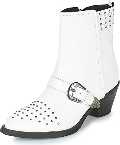 explosión Gran cantidad Dempsey  Amazon.com   Geox D Lovai Ankle Boots/Boots Women White Ankle Boots Shoes    Ankle & Bootie