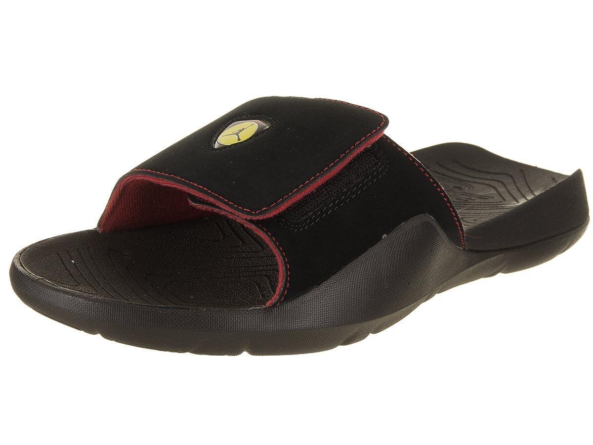 fc2403a9e63 Amazon.com | Jordan AA2517-003: Men's Black/Black-Varsity Jordan Hydro 7  Retro Premium Slides (8 D(M) US Men) | Sandals