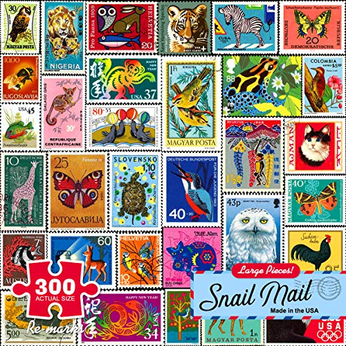 (Re-marks Snail Mail 300pc Large Piece Puzzle)