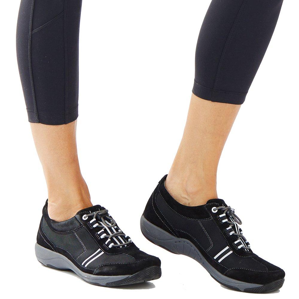 Dansko Women's Helen Sneakers (Black/White Suede,EURO38-US7.5-8) by Dansko (Image #6)