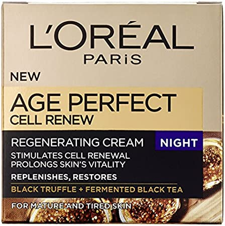 L'Oreal Age Perfect Cell Renew Advanced Crema Reparadora de Noche - 50 ml