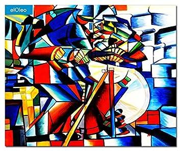 elOleo 85799 a Kazimir Malevich - Afilador de Cuchillos 50 x ...