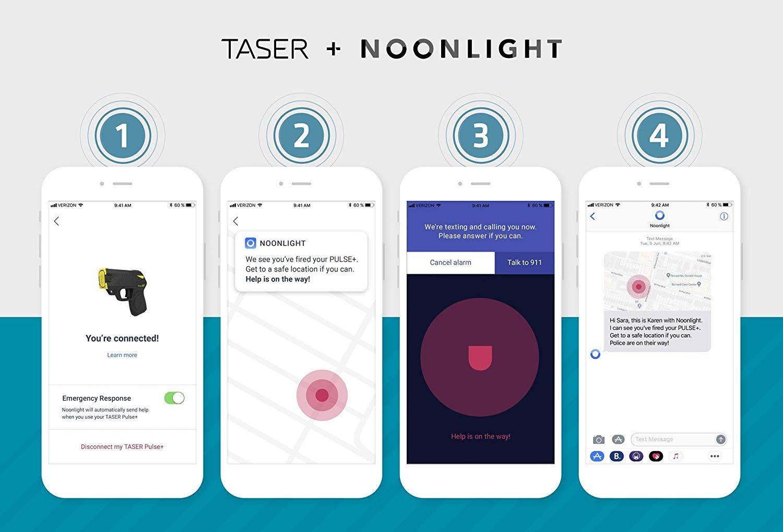 Taser Pulse+ Blade Tech Holster Combo (Newest Pulse Model)