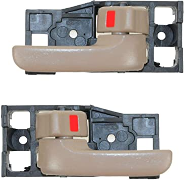 Door Handle Oak Inside Smooth Front Left LH Driver Side for 00-06 Toyota Tundra