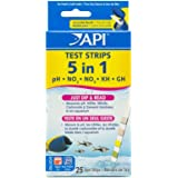 API 5-IN-1 TEST STRIPS Freshwater and Saltwater Aquarium Test Strips