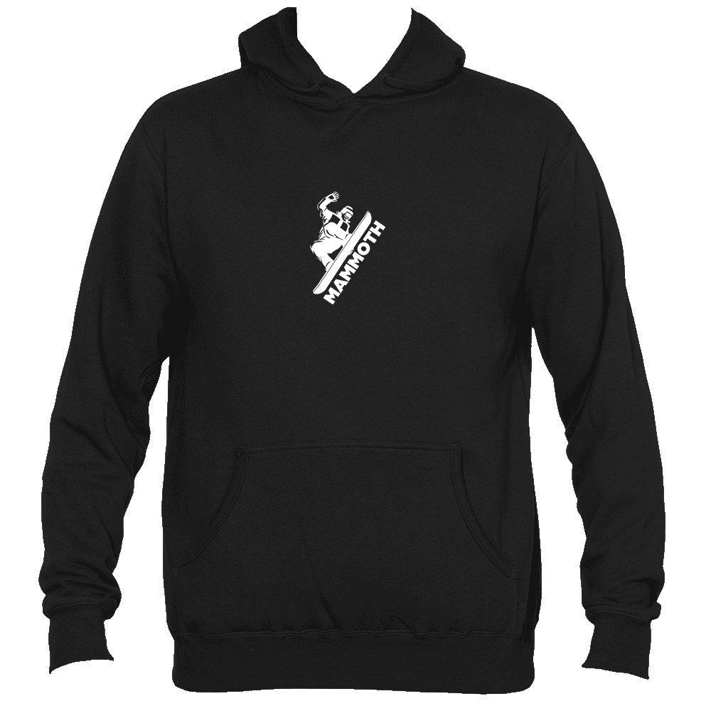 Mens Hooded Sweatshirt//Hoodie Mammoth California Snowboarding