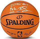BEN SIMMONS Signed & Inscribed '2016 #1 Pick' Authentic Basketball UDA LE 50