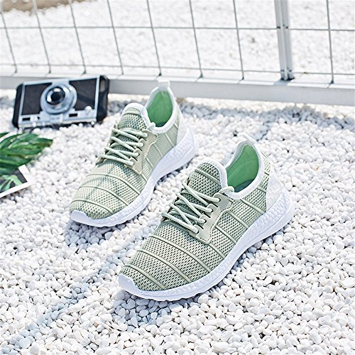 Grey Lightweight Sneakers Running Sport Shoes Mesh Breathable Walking Men's Shoes Women's vqTnqgP
