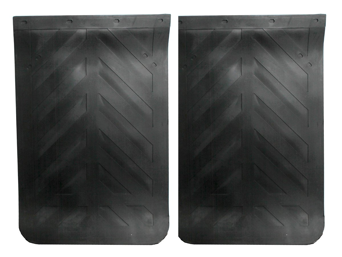 Semi Truck Tractor Mud Flaps Oversize Universal Fit 24'' x 36'' Heavy Duty Rubber PAIR