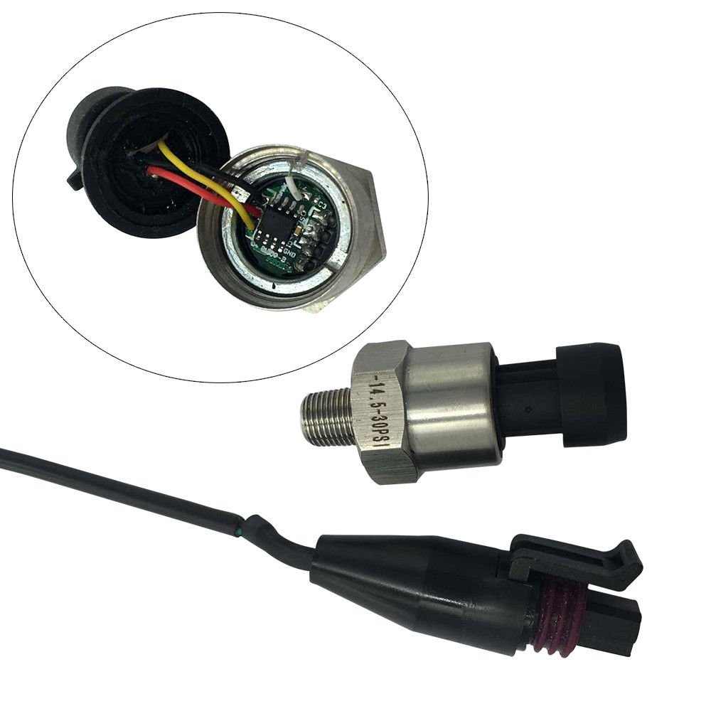 Pressure transducer sender for Oil//Fuel//Air//Water//Stainless Steel Body