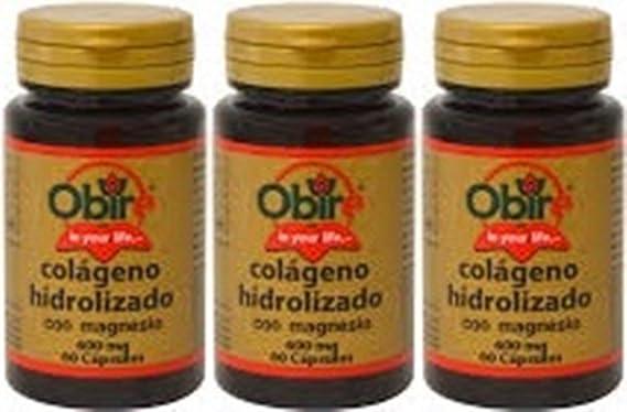Colágeno marino hidrolizado 200 mg. 60 capsulas con magnesio y vitaminas C, B-6, B-9 y B-12.: Amazon.es: Salud y cuidado personal