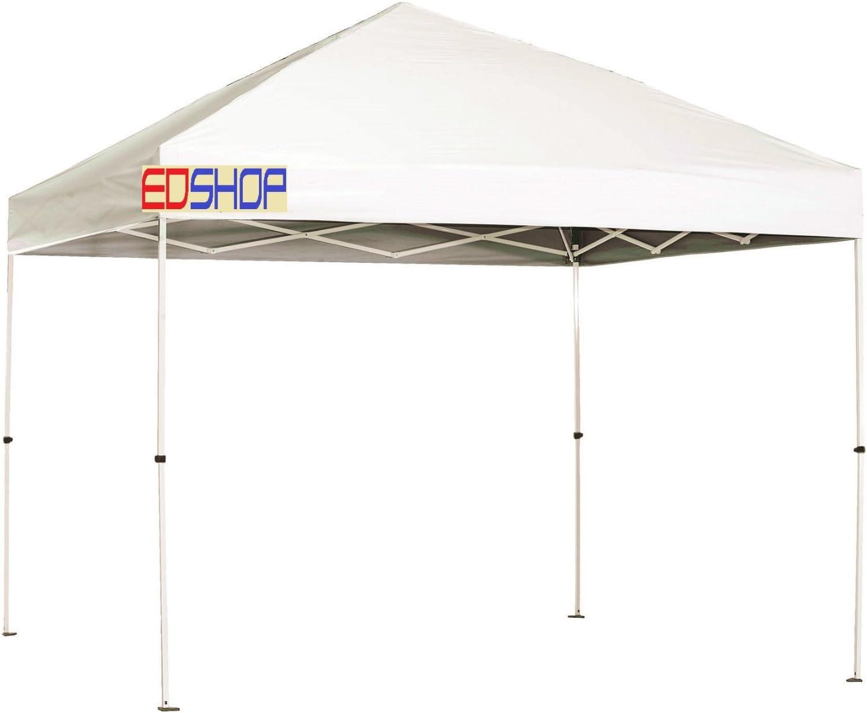 Cenador 3 x 3 m, con tela blanca impermeable 100 %, techo ...