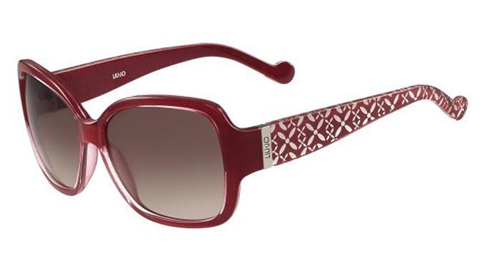 Liu Jo LJ610S 615 58, Gafas de Sol para Mujer, Red: Amazon ...