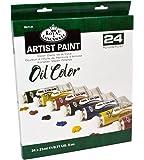 Royal & Langnickel - Confezione da 24 colori a olio da 21 ml