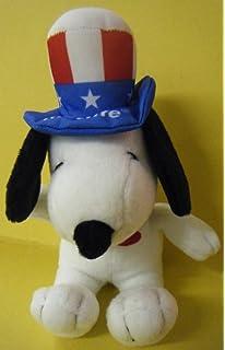 Metlife Peanuts Plush Snoopy as Uncle Sam - America