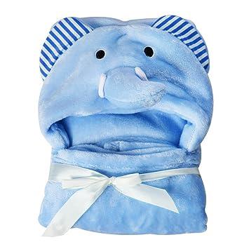 Baby Kapuzen Handtuch Coral Fleece BadDecken für Neugeborene Mädchen Jungen Baby