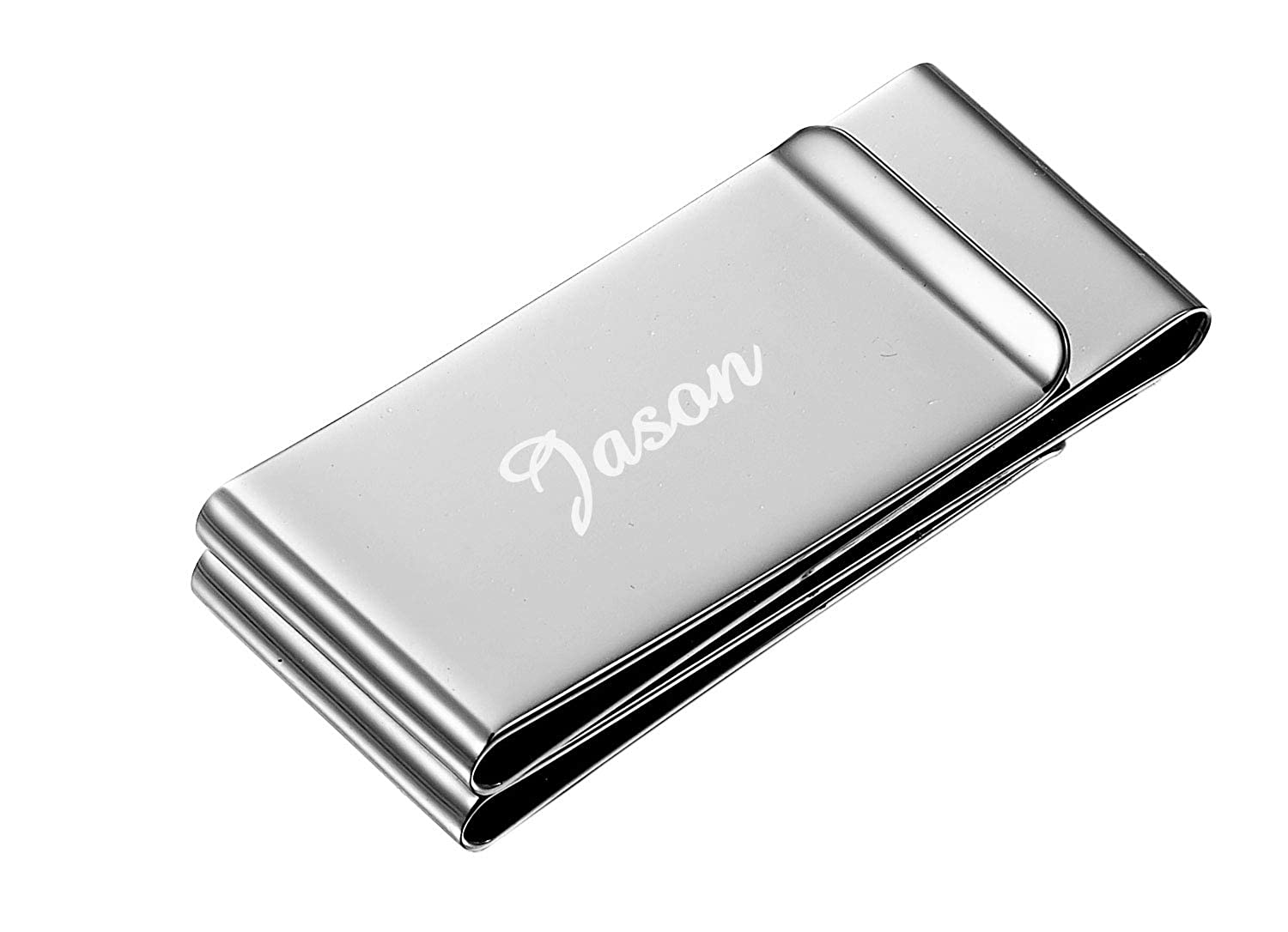 Personalized Trifold Visol Money Clip with Free Laser Engraving