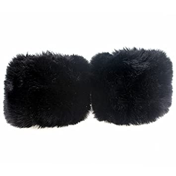 Women's Accessories 1pair Women Winter Wrist Warmer Oversleeve Windproof Faux Fur Arm Bracelet Wristbands Arm Sleeves Durable Service