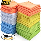 50 PACK of Microfiber Towels/Cloths