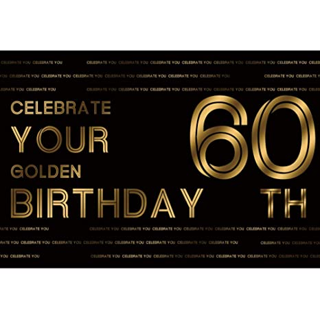 OERJU 1,5x1m Feliz Cumpleaños Partido Fondo Celebrar Tu ...