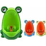 Orinal Infantil, Urinario Diseño de Rana Animal para Niños/Bebes Verde