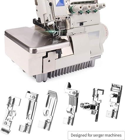 ShineBear - Juego de 6 prensatelas para máquina de coser: Amazon ...