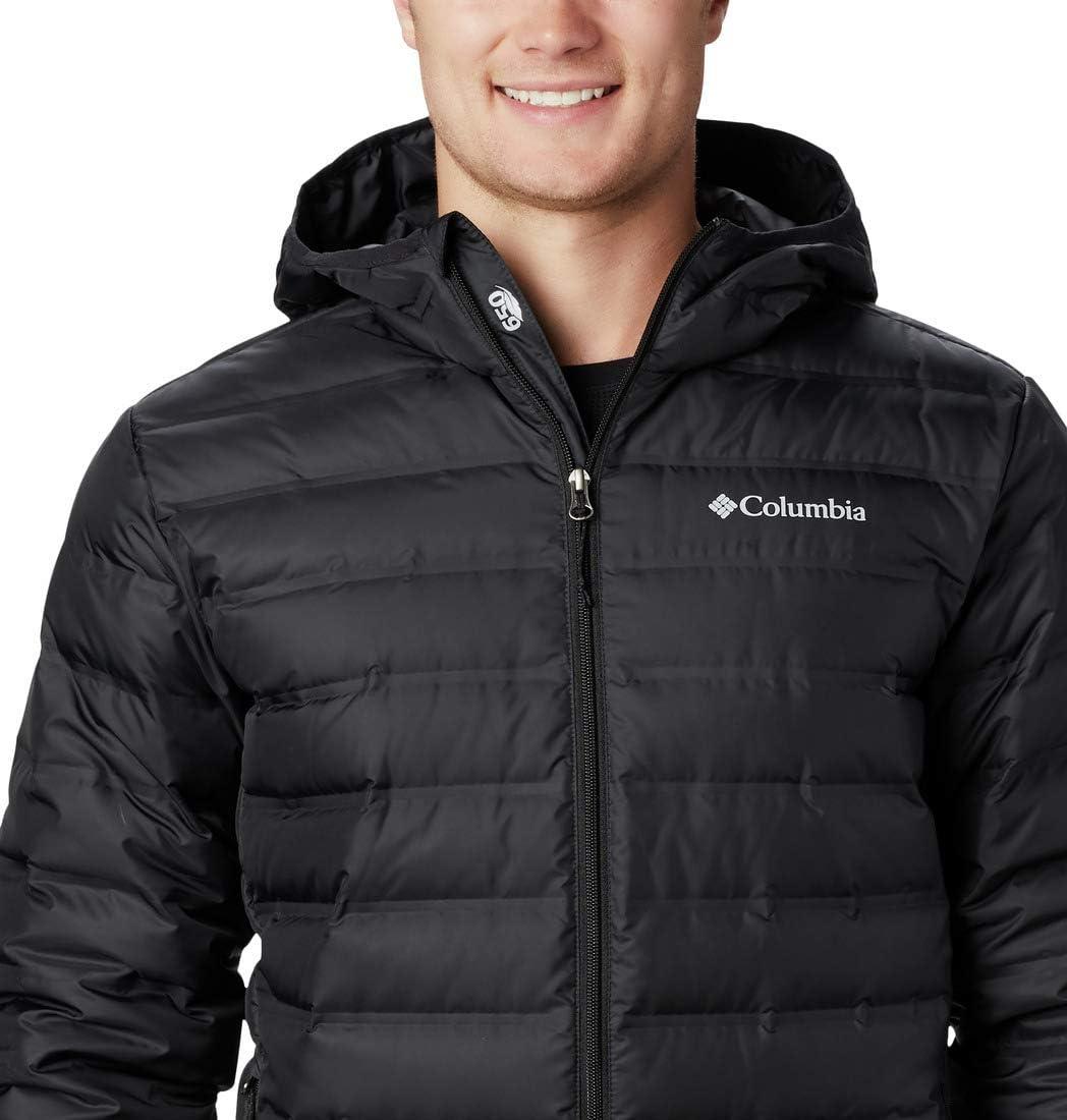 Hombre Columbia Lake 22 Jacket Chaqueta De Plum/ón con Capucha