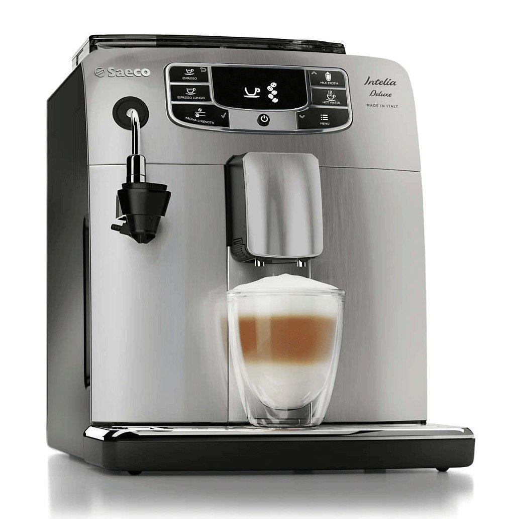 Saeco Intelia Deluxe HD8758/57 Espresso Machine (Certified Refurbished)